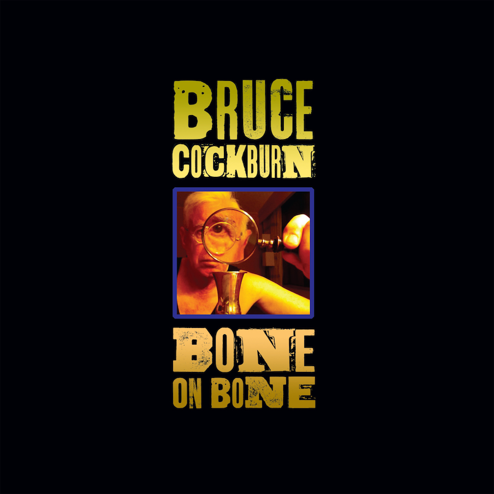 Bruce Cockburn - Bone on Bone; album art