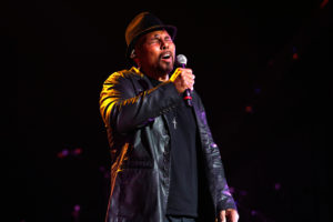 NEW ORLEANS, LA - MAY 03:  Aaron Neville performs during The Musical Mojo of Dr. John: A Celebration of Mac & His Music at the Saenger Theatre on May 3, 2014 in New Orleans, Louisiana.  (Photo by Skip Bolen/Getty Images for Blackbird Productions) *** Local Caption *** Aaron Neville