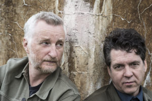 Billy Bragg and Joe Henry closeup photo