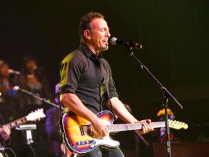 NEW ORLEANS, LA - MAY 03:  Bruce Springsteen performs during The Musical Mojo of Dr. John: A Celebration of Mac & His Music at the Saenger Theatre on May 3, 2014 in New Orleans, Louisiana.  (Photo by Skip Bolen/Getty Images for Blackbird Productions) *** Local Caption *** Bruce Springsteen