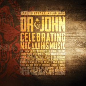 Dr. John Celebrating Mac and His Music album cover
