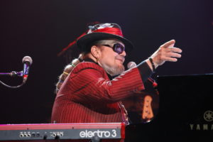 Dr. John performs during The Musical Mojo of Dr. John: A Celebration of Mac & His Music at the Saenger Theatre on May 3, 2014 in New Orleans, Louisiana.