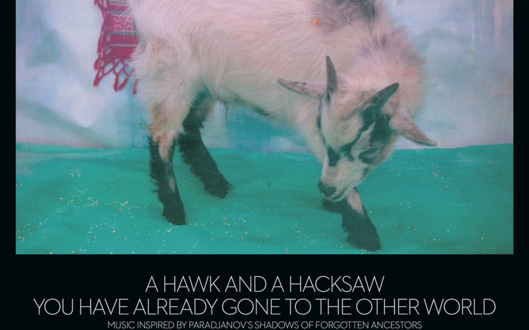 NEW ALBUM BY A HAWK AND A HACKSAW: YOU HAVE ALREADY GONE TO THE OTHER WORLD / MUSIC INSPIRED BY PARADJANOV'S SHADOWS OF FORGOTTON ANCESTORS, PRODUCED BY DEERHOOF'S JOHN DIETERICH, TO BE RELEASED APRIL 2