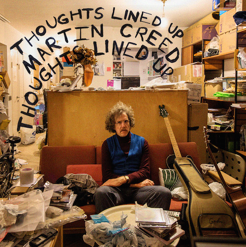 Martin Creed - Thoughts Lined Up Album Art
