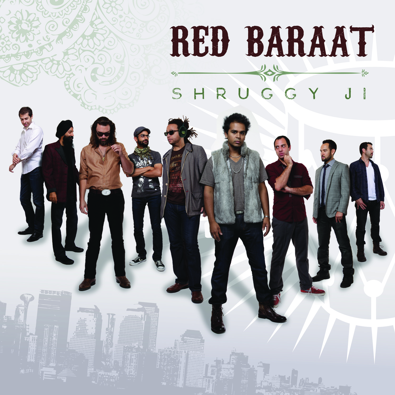 Red Baraat - Shruggy Ji album art