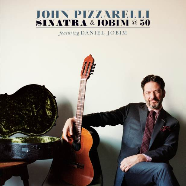 John Pizzarelli - Sinatra & Jobim at 50, album art