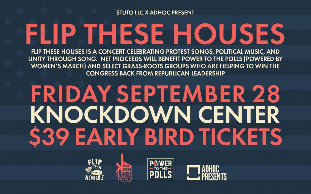 2 Weeks Until Members of Spoon, Nada Surf, More Perform at 'Flip These Houses' Benefit Concert
