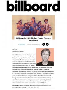 Billboard Digital Power Players 2019