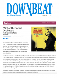Leonhart in Downbeat